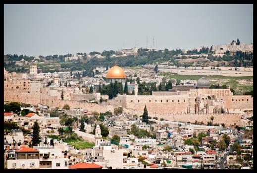 Jerusalem - Gold mosque