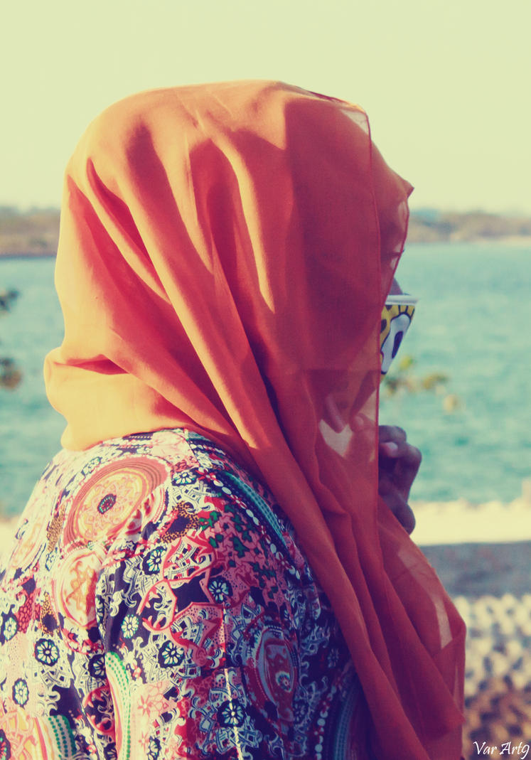 Hijab Vintage Retro Efek By Varart9 On Deviantart