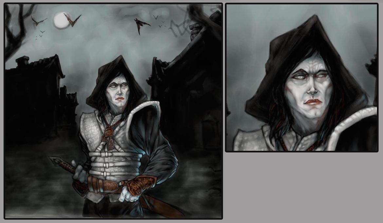 Vampiric watchman-Closeup by Shayulghul