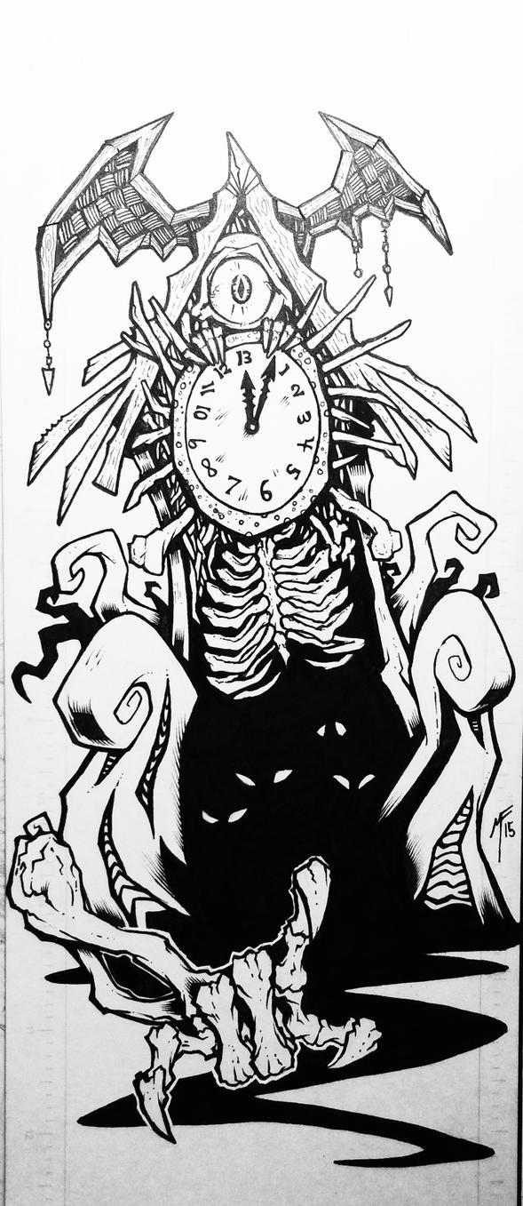 Creepy Clock by Shayulghul