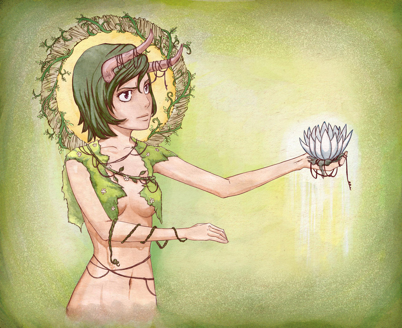 Dryad by kindnessisacardgame