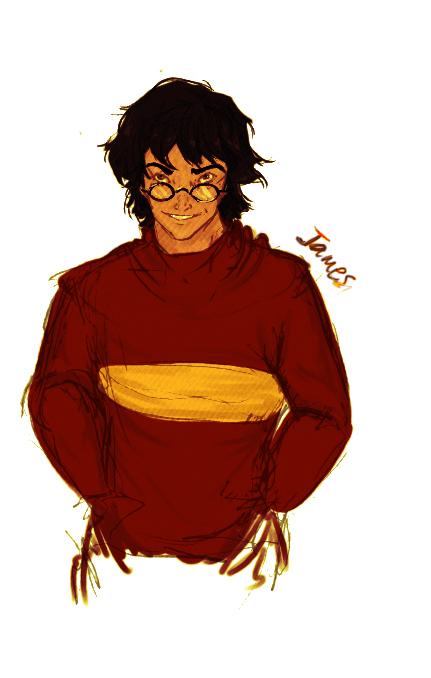 James Potter by MioneBookworm