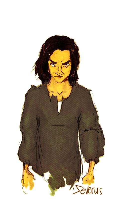 Severus Snape by MioneBookworm