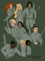 The Hunger Games by MioneBookworm
