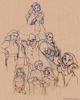 doodles12 (Disney Les Mis)
