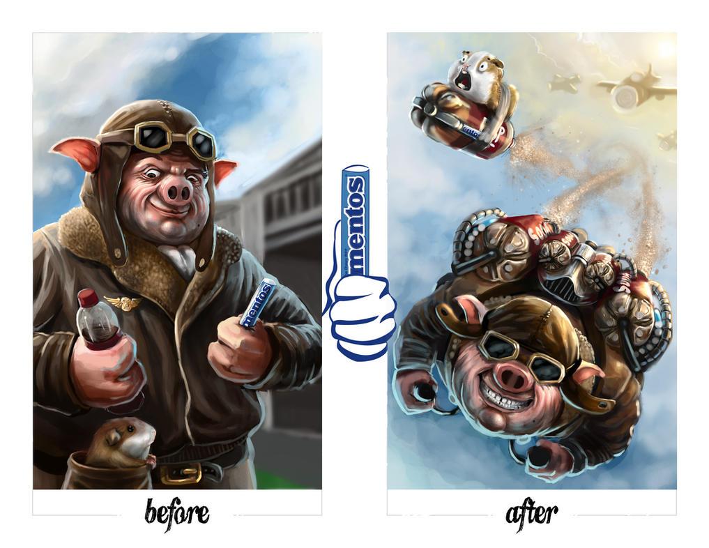 Top Hog by Jackaloftrades