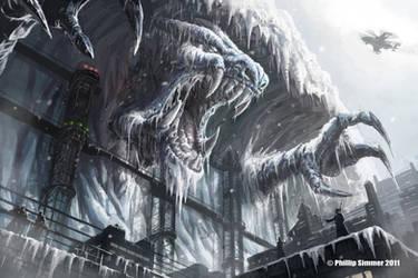 Excavating the Frozen Beast by PhillterUnfilturd