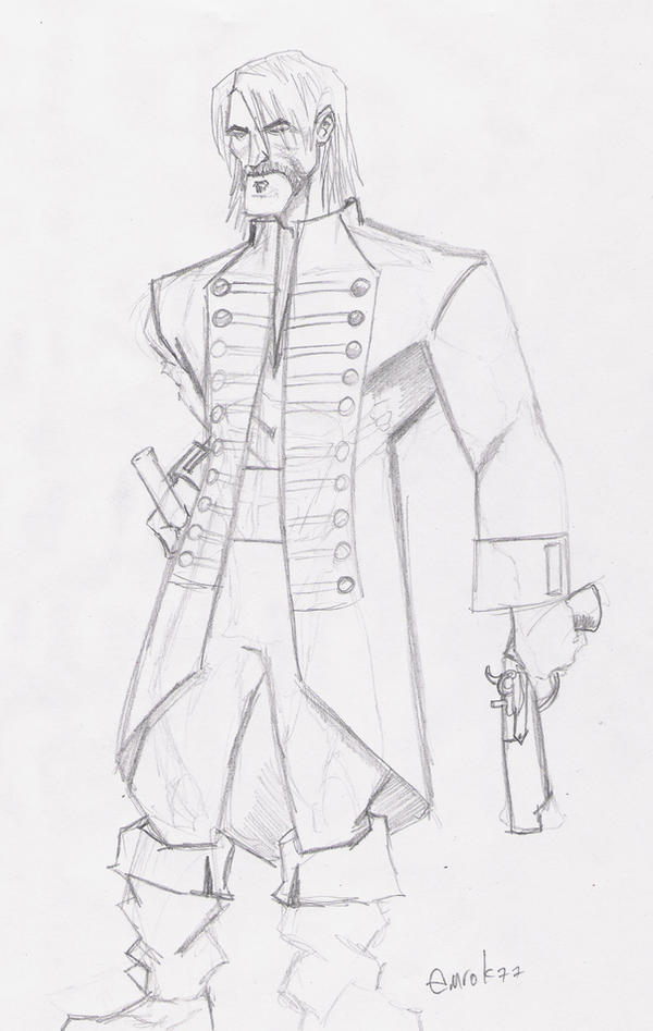 pirate sketch by EmanuelMacias
