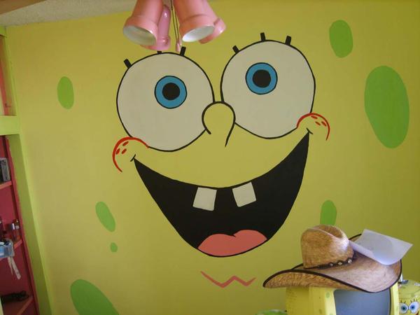 sponge bob room by EmanuelMacias