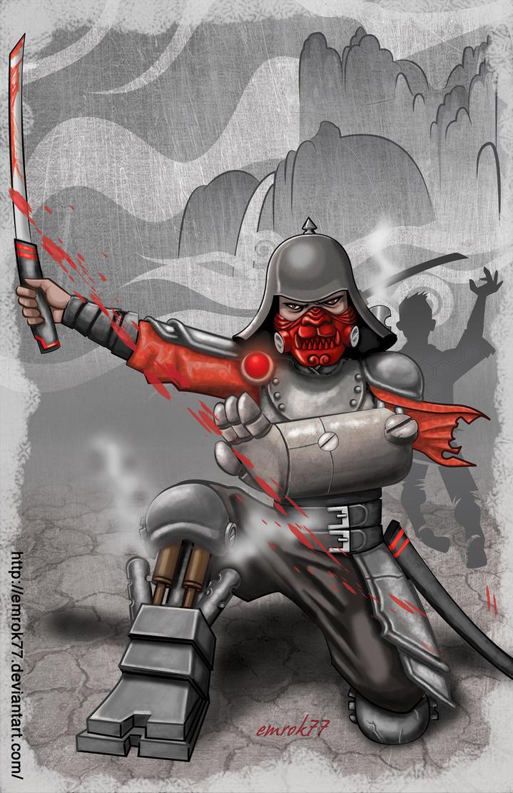 Steampunk Samurai by EmanuelMacias
