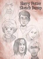 Harry Potter Sketch dump by EmanuelMacias