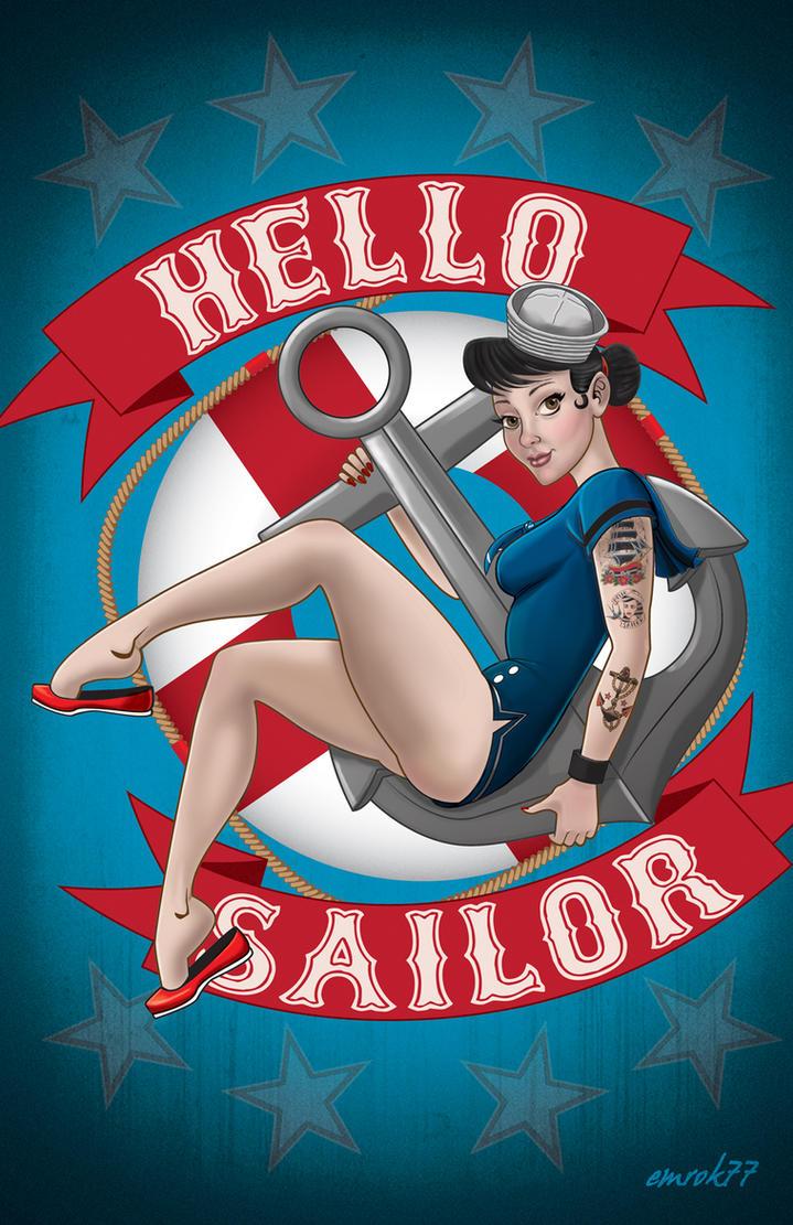 sailor pinup 2 by EmanuelMacias