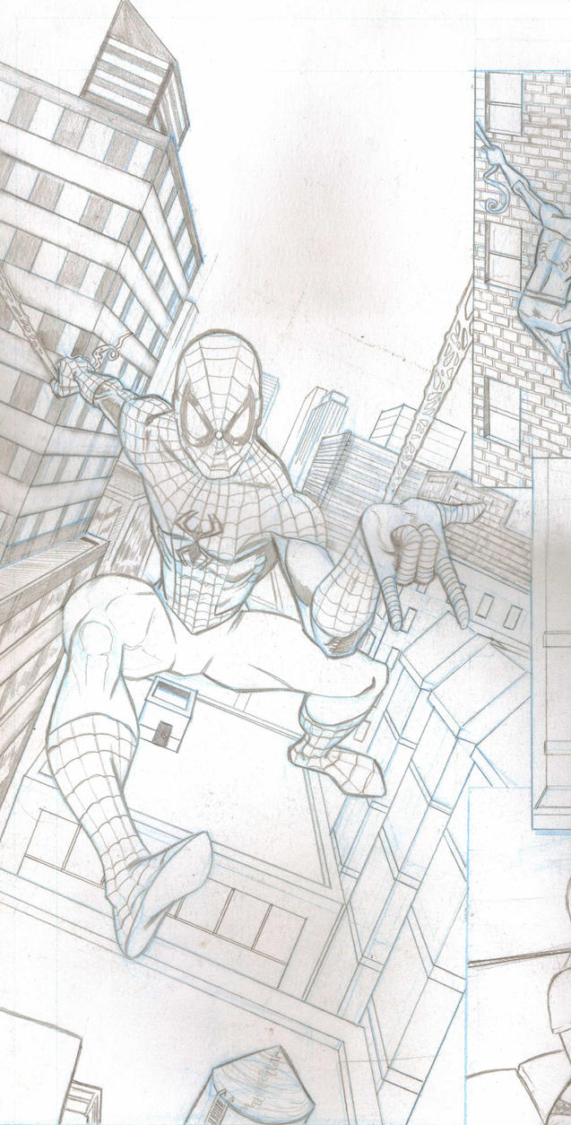 Here comes the Spiderman by EmanuelMacias
