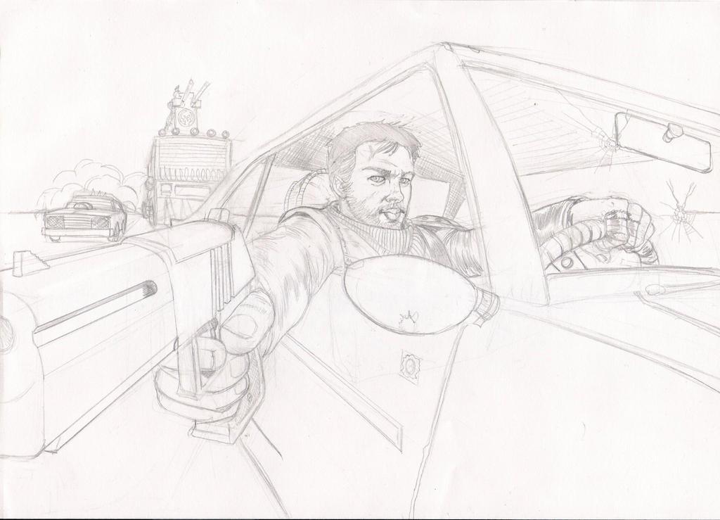 Mad Max 2 by EmanuelMacias