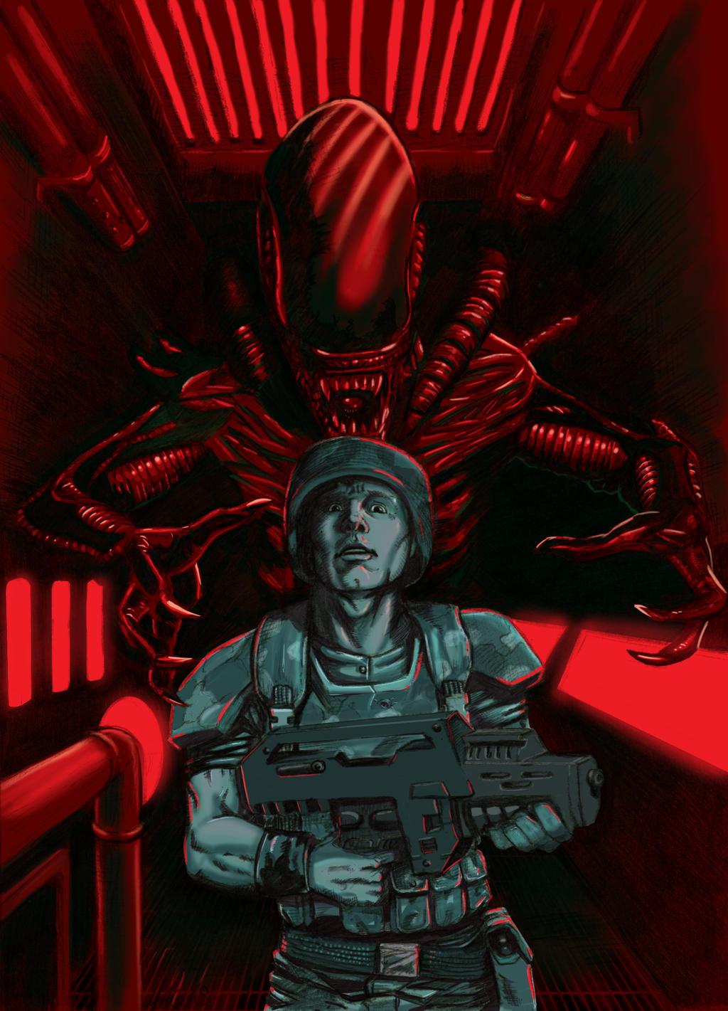 Aliens i gotta bad bad feeling by EmanuelMacias