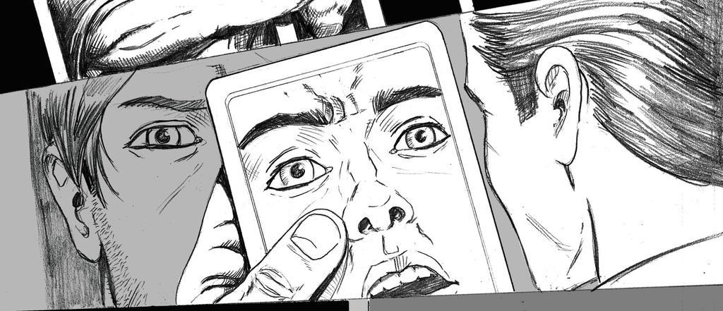 Comic panel by EmanuelMacias