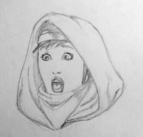Ghost sketch by EmanuelMacias