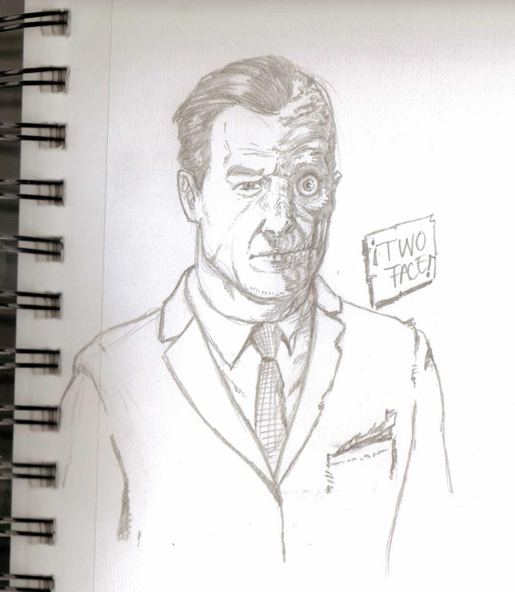 Two face sketch by EmanuelMacias
