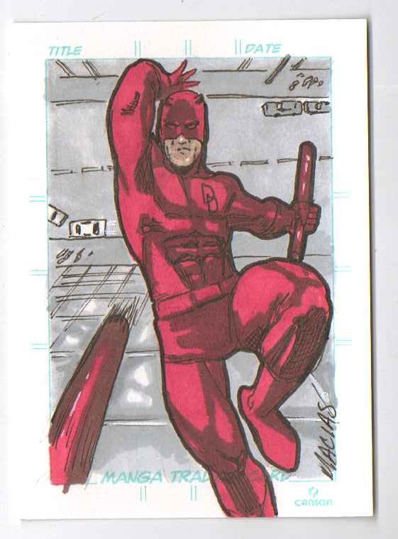 daredevil sketch card by EmanuelMacias