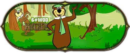 Yogi Bear signature. by gmazei