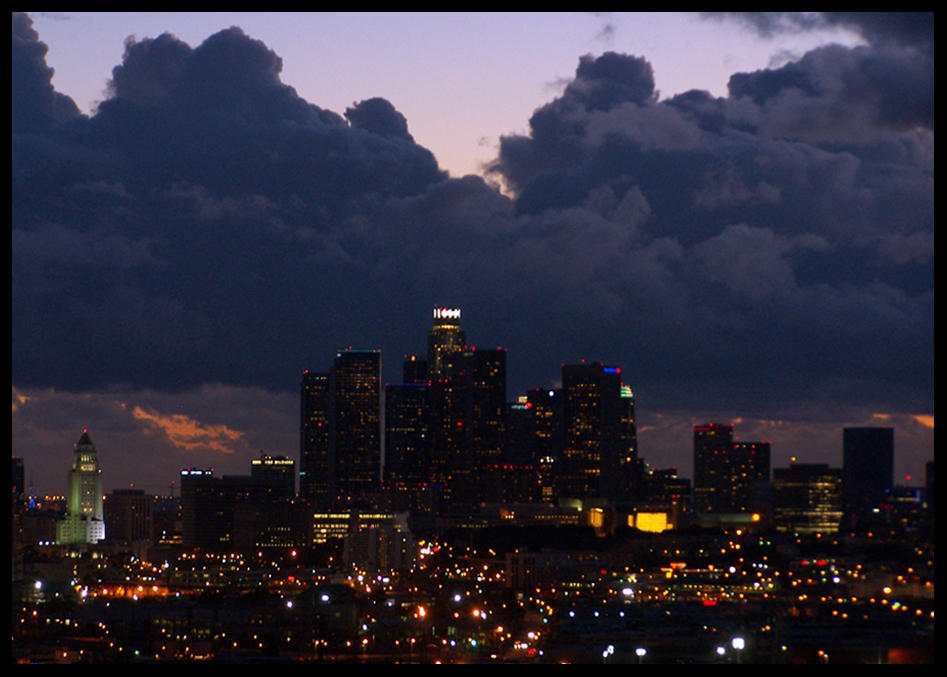 Downtown Los Angeles by Raydog