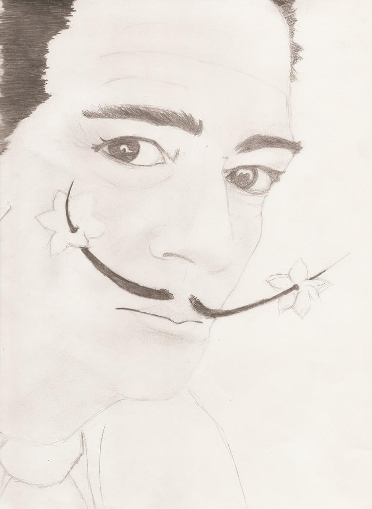 Salvador Dali by 13scarlett113 on deviantART