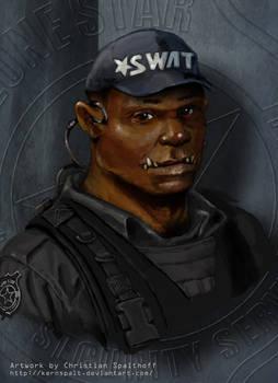 SWAT Orc Portrait