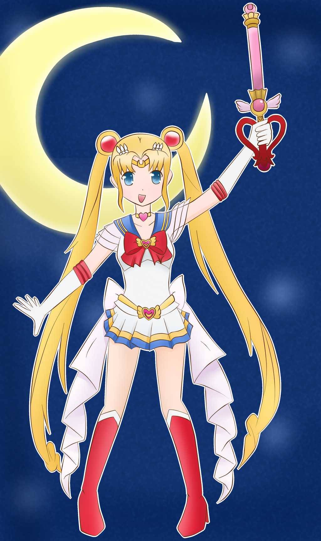 Sailor Moon by Tangy-chan