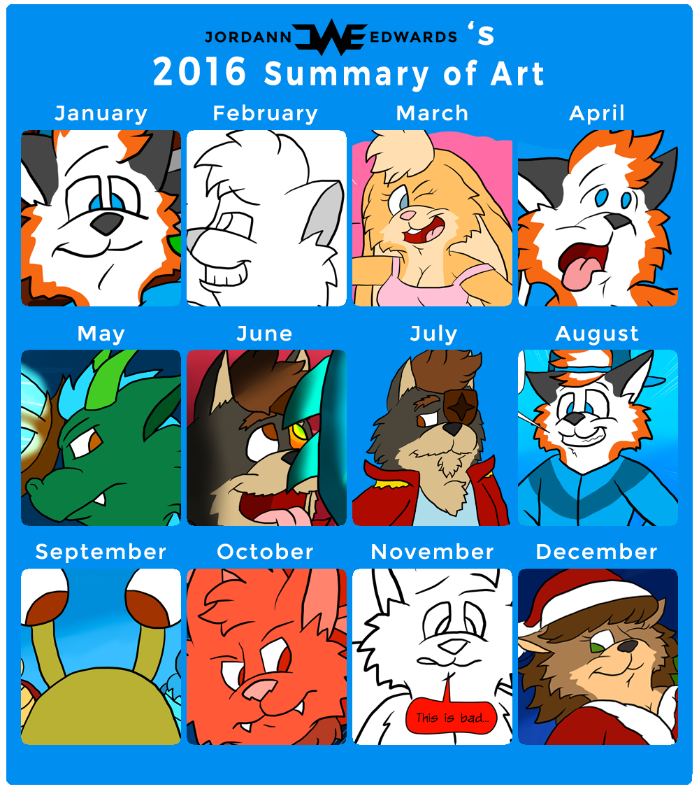 Summary Of Art 2016 by JWthaMajestic