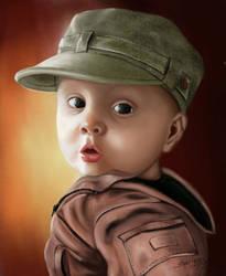 Child portrait by surendrarajawat