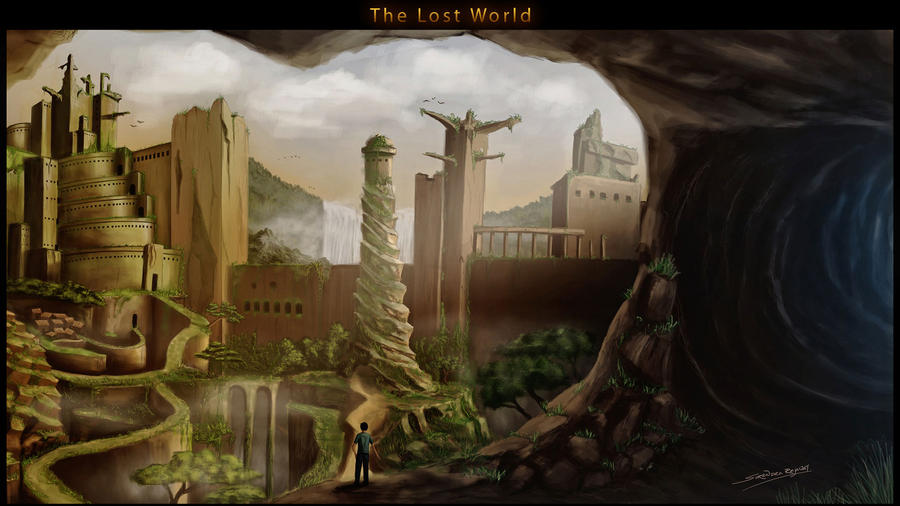 The lost World by presidentindia