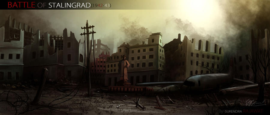 Battle Of Stalingrad by surendrarajawat