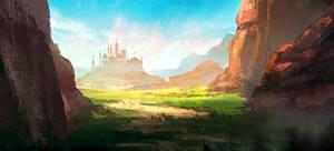 landscape speed painting tuts-3 by surendrarajawat