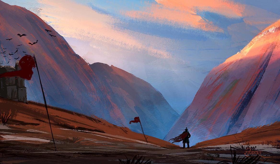 Custodian of the Valley : Speedpaint by surendrarajawat