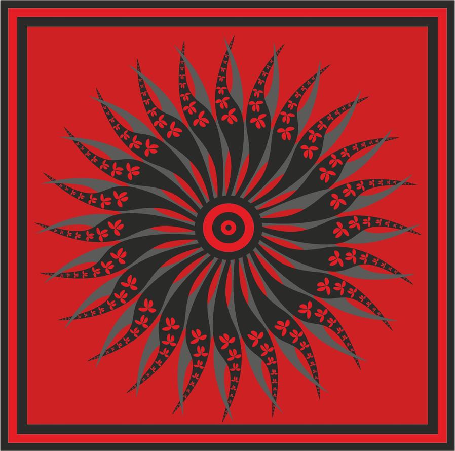 circular serigraphy 01 by B0RTECENE