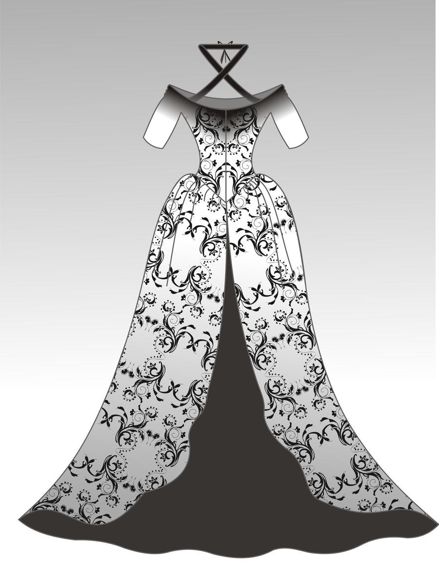 DRESS 04 by B0RTECENE