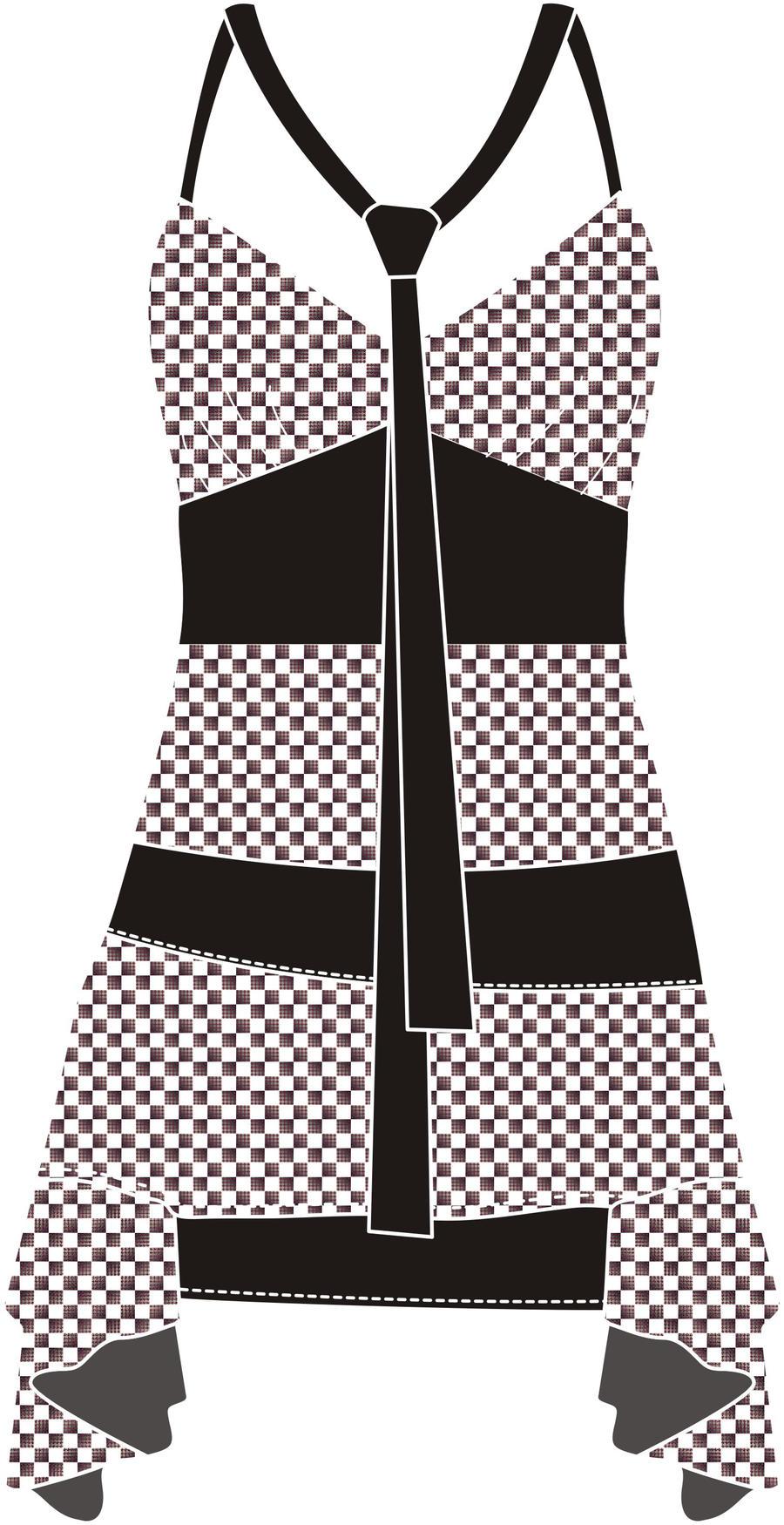DRESS 02 by B0RTECENE