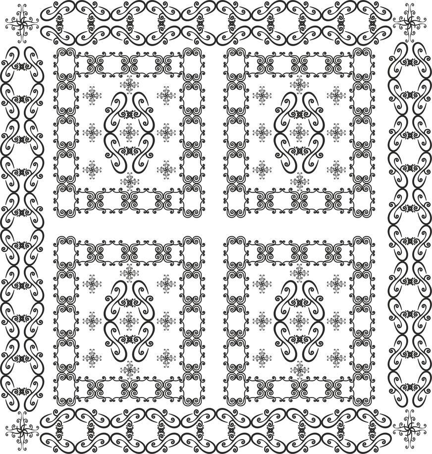 Pattern 23 by B0RTECENE