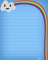 Kawaii Cloud Stationary by mrnd-nl