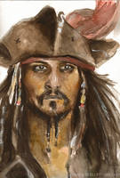 Captain Jack Sparrow by BowieKelly