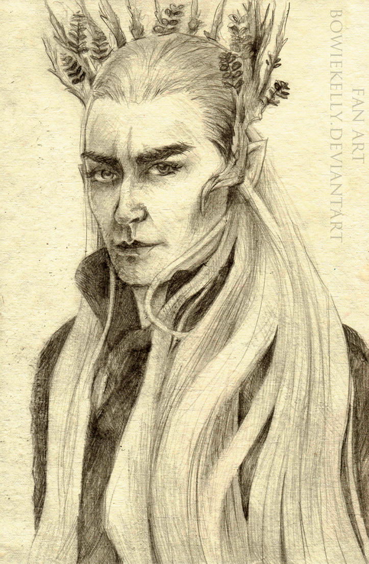 Thranduil. by BowieKelly
