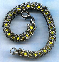 Chainmail bracelet by Craftcove
