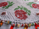 Bead Crocheted Doily 5 by Craftcove
