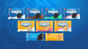 Oreo rebrand concept - All permanent flavors
