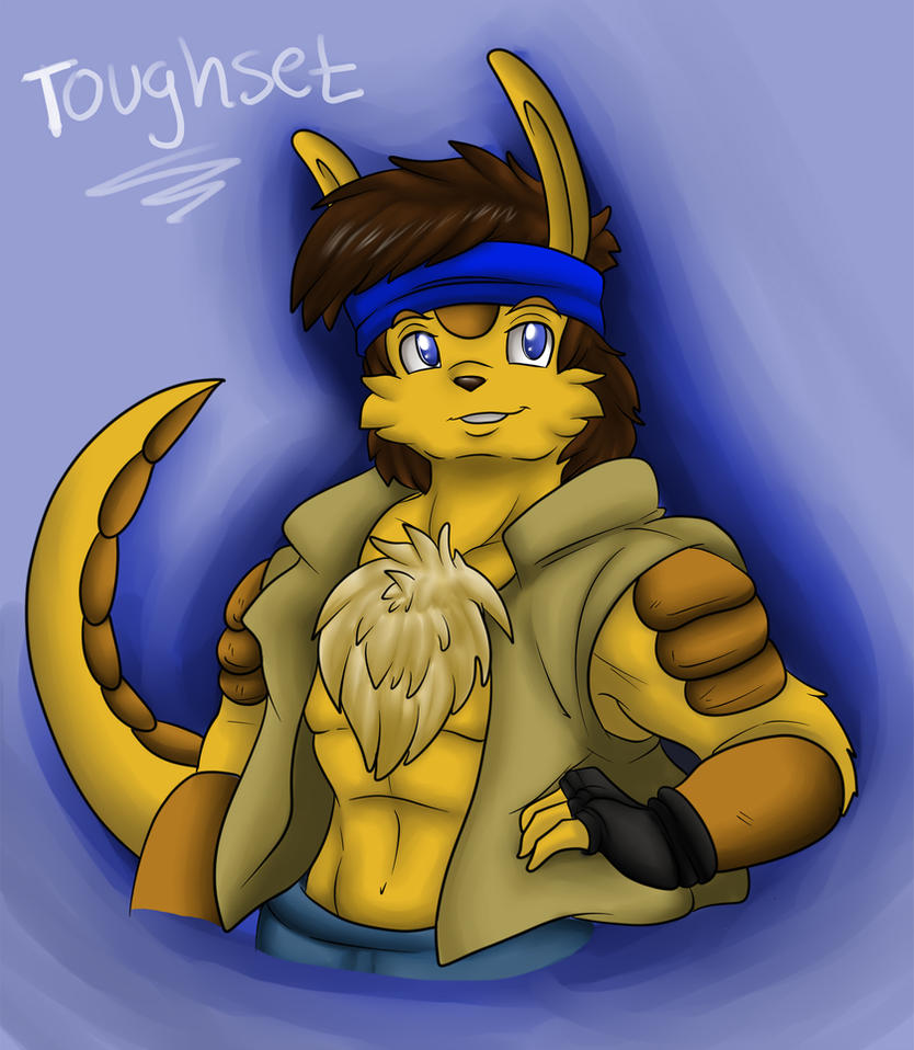 SAI Coloring practice _ Toughset Bust by Crysalia777