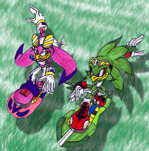 JET AND WAVE by Crysalia777Jet And Wave
