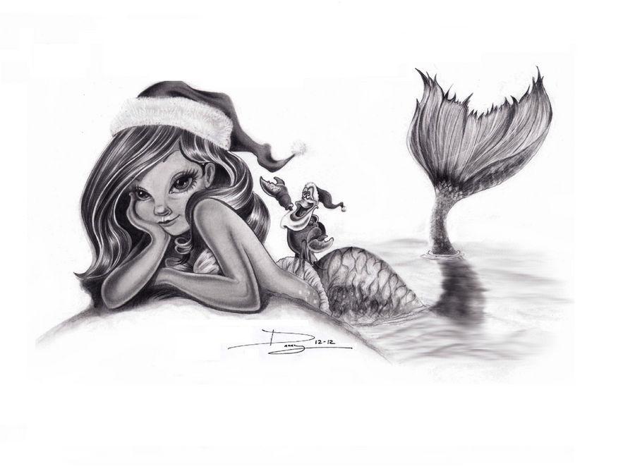 Ariel Christmas Time