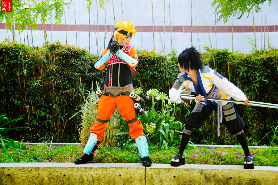 Sasuke and Naruto Ryujinki by Antiquity-Dreams