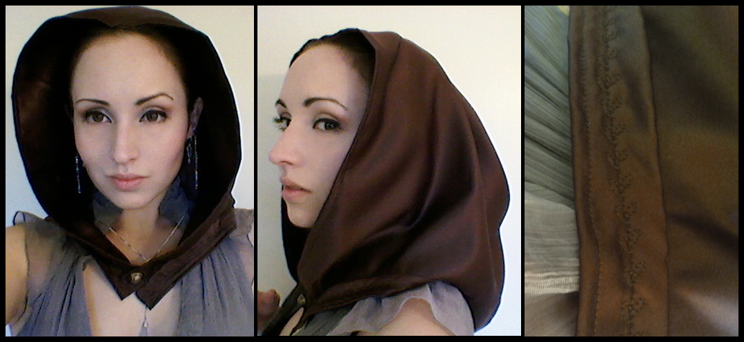 Commission: Floating Hood in Brown by Antiquity-Dreams