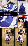 Rarity Lolita Inspired Close Up by Antiquity-Dreams